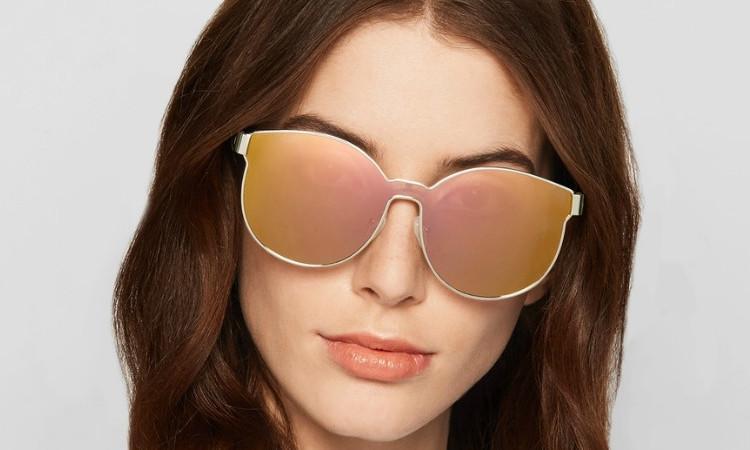 c6a2fee12ba2 KAREN WALKER STAR SAILOR GOLD - Sunglasses Online