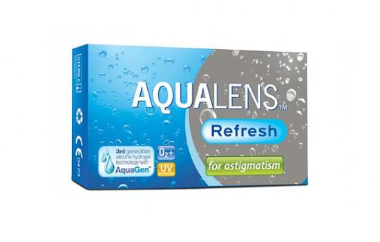 AQUALENS REFRESH FOR ASTIGMATISM 3P