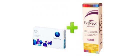 Biofinity Toric 3p + Eyemax 360ml