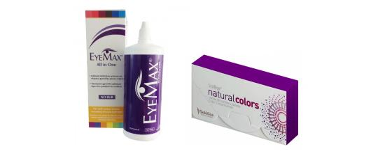 SOLOTICA SOLFLEX NATURAL COLORS MONTHLY 2p + Eyemax 360ml