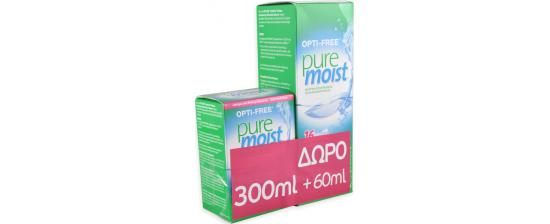 Optifree Puremoist 300ml + 60ml