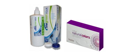 SOLOTICA SOLFLEX NATURAL COLORS MONTHLY 2p + Biogreen 355ml