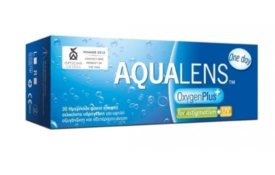 AQUALENS OXYGEN PLUS ONE DAY ASTIGMATISM 30P