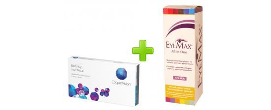 Biofinity Multifocal 3p + Eyemax 360ml