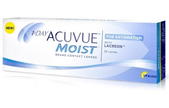 ACUVUE MOIST 1-DAY ASTIGMATISM 30P