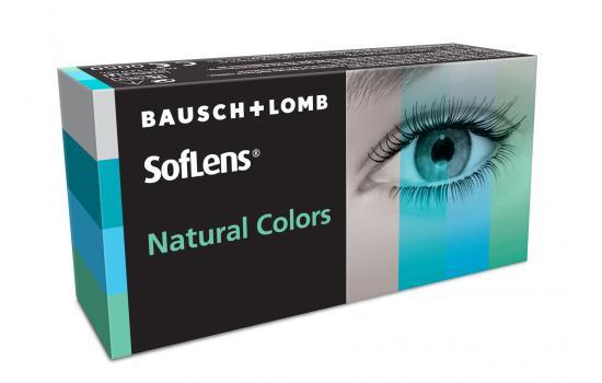 SOFLENS NATURAL COLORS 2P