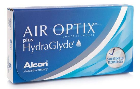 AIR OPTIX PLUS HYDRAGLYDE 3p