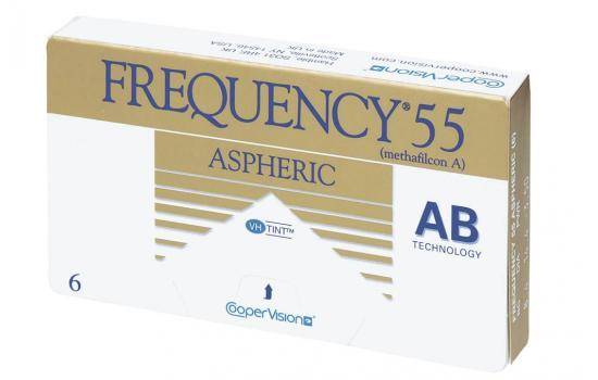 FREQUENCY 55 ASPHERIC 6P