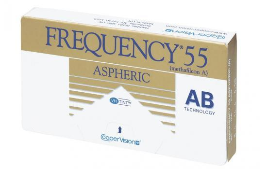 FREQUENCY 55 ASPHERIC 3P