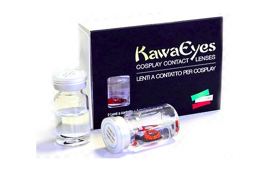 KAWAEYES YEARLY CRAZY LENS 2p