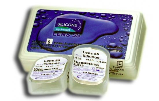 LENS 55 SILICONE RX 3p