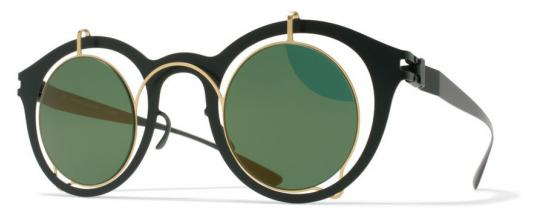 MYKITA BRADFIELD/GOLD-FOREST GREEN