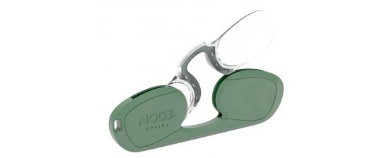NOOZ OPTICS RECTANGULAR/GREEN OLIVE