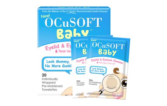 OCUSOFT BABY Eyelid & Eyelash Cleanser 20p