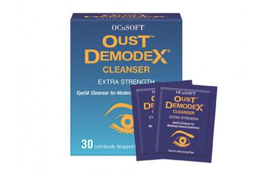 OCUSOFT OUST DEMODEX CLEANSER Pads 30p