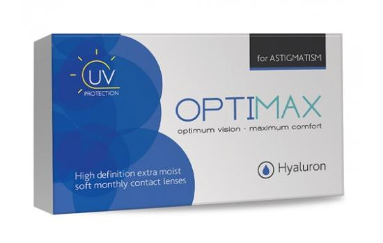 OPTIMAX HYALURON for ASTIGMATISM 3p