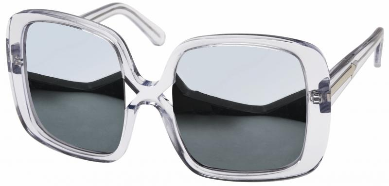 9063c911389 KAREN WALKER MARQUES CLEAR-SILVER - Sunglasses Online