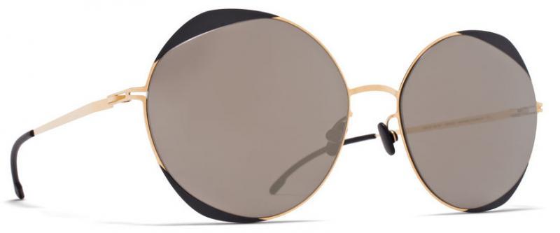56e732a7738 MYKITA ELISA GOLD-JET BLACK - Sunglasses