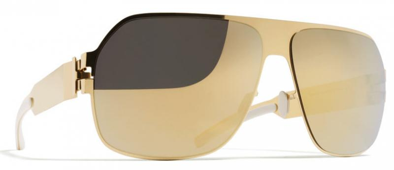 MYKITA bernhard willhelm XAVER Gold Sunglasses