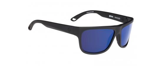 SPY ANGLER/SOFT MATTE BLACK/BRONZE POLAR W/DARK BLUE