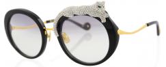 ANNA KARIN KARLSSON ROSE ET LA ROUE CRYSTAL/BLACK - Sunglasses - Lenshop