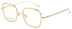 FOR ART`S SAKE COCONUT/GOLD - Prescription Glasses Online | Lenshop.eu