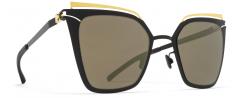 MYKITA KENDALL/GOLD-JET BLACK - Γυαλιά ηλίου