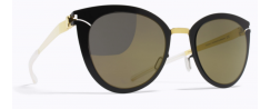 MYKITA PRISCILLA/GOLD-JET BLACK - Sunglasses
