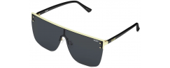 QUAY BLOCKED/GLD/SMK - Sunglasses Online