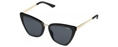 QUAY REINA/BLACK - Sonnenbrillen - Lenshop